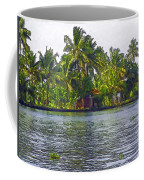 Cottage In The Midst Of Greenery Coffee Mug