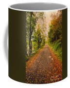 Country Lane Coffee Mug by Adrian Evans