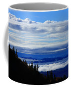 Courthouse Valley Sea Of Clouds Coffee Mug