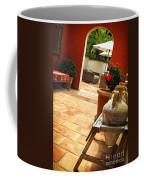 Courtyard Of A Villa Coffee Mug by Elena Elisseeva