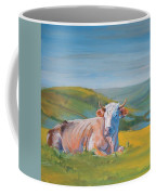 Cow Lying Down Coffee Mug