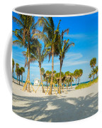 Crandon Park Beach Coffee Mug