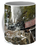 Crossing The High Bridge Coffee Mug