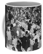 Crowds In Ohrbach's Store Coffee Mug