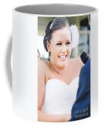Crying And Laughing Bride Coffee Mug