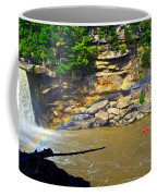 Cumberland Falls Rainbow Coffee Mug by Frozen in Time Fine Art Photography