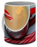 Cup Of Christmas Cheer - Candy Cane - Candy -  Irish Cream Liquor Coffee Mug by Barbara Griffin