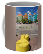 Curacaos Colorful Architecture Coffee Mug