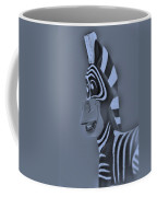 Cyan Zebra Coffee Mug