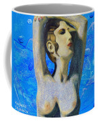Cyprus Map And Aphrodite Coffee Mug