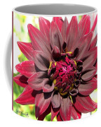 Dahlia Named Black Wizard Coffee Mug