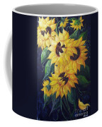 Dancing Sunflowers  Coffee Mug