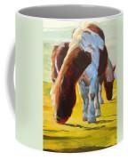 Dartmoor Ponies Painting Coffee Mug