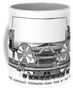 Daugherty Typewriter, 1895 Coffee Mug