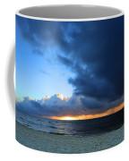 Dawn Over The Ocean Coffee Mug