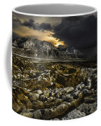 Dead Sea Sink Holes Coffee Mug