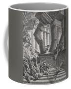 Death Of Samson Coffee Mug by Gustave Dore