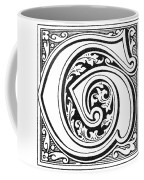 Decorative Initial G Coffee Mug