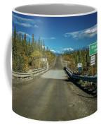 Denali Highway, Route 8, Bridge Crosses Coffee Mug