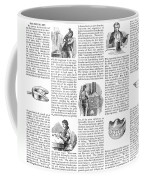 Dentures, 1853 Coffee Mug