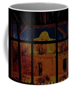 Desert Trail Homage 1936 Cabezon Peak Ghost Town Cabezon New Mexico 1971 Coffee Mug