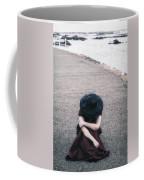 Desperate Coffee Mug by Joana Kruse