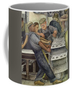 Detroit Industry   North Wall Coffee Mug