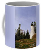Dice Head Lighthouse Coffee Mug