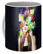 Digital Future Of Business Communication Coffee Mug