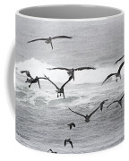 Dinner Time At Pelican Land Coffee Mug