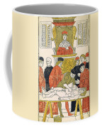 Dissection Lesson, 1493 Coffee Mug