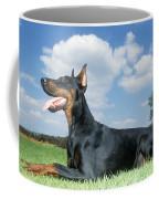Doberman Pinscher Dog Coffee Mug