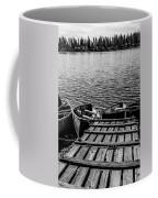 Dock At Island Lake Coffee Mug