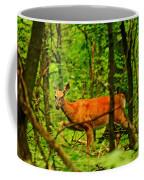 Doe On The Move Coffee Mug