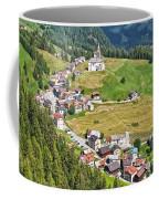 Dolomiti - Laste Village Coffee Mug