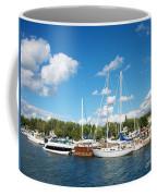 Door County Harbor Coffee Mug