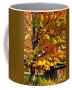 Door County Yellow Maple Migrant Shack Coffee Mug