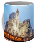 Downtown Chicago View Coffee Mug