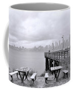 Downtown Seattle As Seen From Alki Beach Coffee Mug