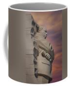 Dr. Martin Luther King Jr Memorial Coffee Mug by Susan Candelario