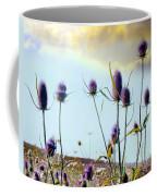 Dream Field Of Teasels Coffee Mug