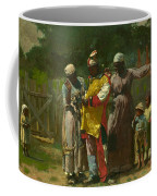 Dressing For The Carnival Coffee Mug by Winslow Homer