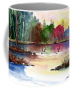 Duck Lake Coffee Mug
