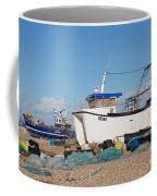 Dungeness Fishing Boats Coffee Mug