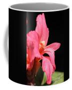 Dwarf Canna Lily Named Shining Pink Coffee Mug
