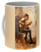 Eakins' Study For Negro Boy Dancing -- The Banjo Player Coffee Mug