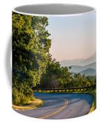 Early Morning Sunrise Over Blue Ridge Mountains Coffee Mug