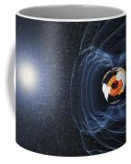 Earths Magnetic Field Coffee Mug