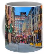 East Fourth Street In Cleveland Coffee Mug