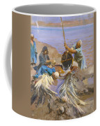 Egyptians Raising Water From The Nile Coffee Mug